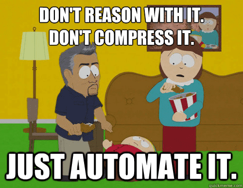 Automate away